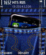 Jeans theme screenshot