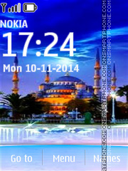 Sultan Ahmed Mosque in Istanbul tema screenshot