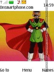 Dragon Ball Z Saiyaman tema screenshot
