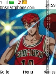 Slam Dunk Sakuragi theme screenshot