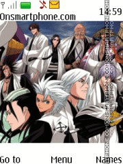 Bleach Captains es el tema de pantalla