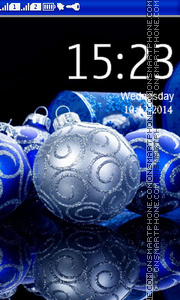 Chiristmas Ball Theme-Screenshot