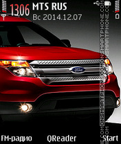 Ford Explorer theme screenshot