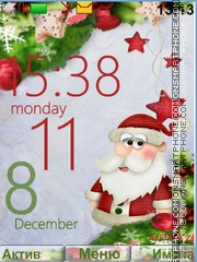 Santa Claus Theme-Screenshot