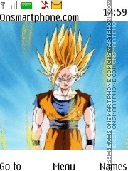 Dragon Ball Z Gohan Ssj theme screenshot
