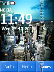 Fifth Avenue in New York tema screenshot