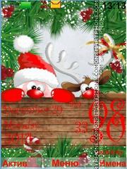 Santa Claus tema screenshot