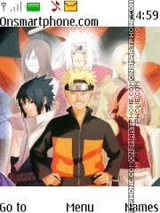 Скриншот темы Naruto Sannin