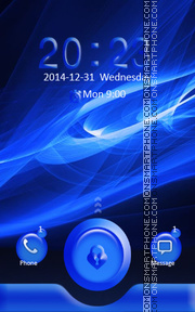 Locker Theme73 tema screenshot