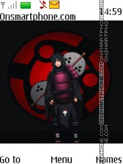Madara Uchiha Naruto theme screenshot