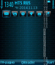 Blue-Wall tema screenshot