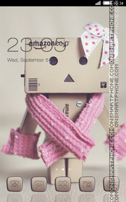 Danbo theme screenshot