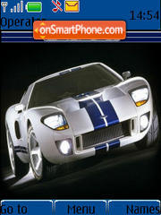 Скриншот темы Ford Gt 01