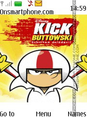 Kick Buttowski theme screenshot