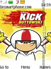 Скриншот темы Kick Buttowski