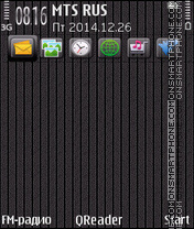 Cover Grey tema screenshot