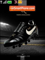 Tiempo Ronaldinho theme screenshot