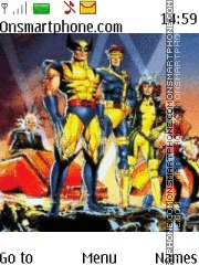 X-Men theme screenshot