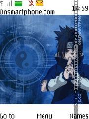Скриншот темы Sasuke Uchiha Naruto