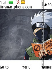 Kakashi Hatake Naruto theme screenshot