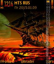 Capture d'écran Ghost-Ship thème