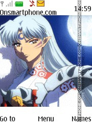 Sesshomaru theme screenshot
