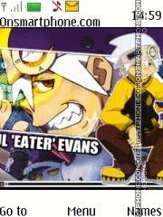 Capture d'écran Soul Eater Evans thème