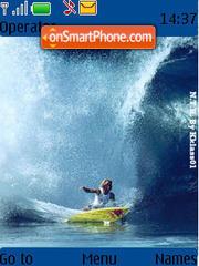 Surfs Up 01 es el tema de pantalla