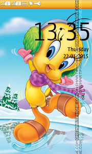 Tweety Theme-Screenshot