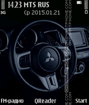 Mitsubishi theme screenshot
