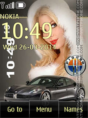 Fisker Karma theme screenshot