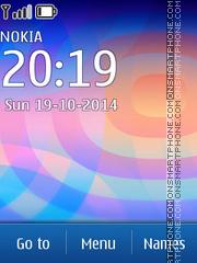 Скриншот темы Lock Screen