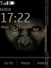 Planet of Apes theme screenshot