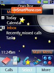 Stars Moon es el tema de pantalla
