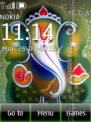 Ganesha 08 tema screenshot
