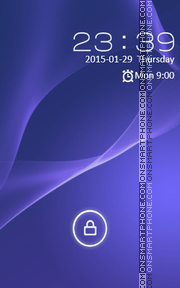 Locker Theme81 tema screenshot