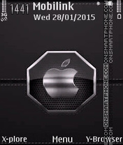Siluer leather2 theme screenshot