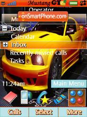 Mustang Gtr es el tema de pantalla