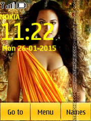 Sonakshi 02 theme screenshot