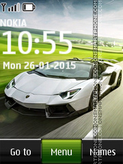 Lamborghini 23 theme screenshot