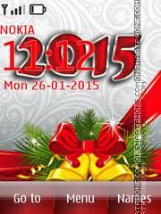 Скриншот темы 2015 New Year 01