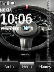 BMW Steering wheel theme screenshot