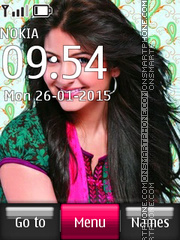 Anushka Sharma 02 theme screenshot
