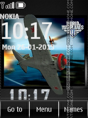 World of Warplanes es el tema de pantalla