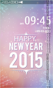 New Year 2015 tema screenshot