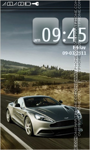 Aston Martin 20 theme screenshot