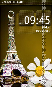 Eiffel Tower 19 Theme-Screenshot