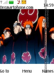 Naruto Pain tema screenshot