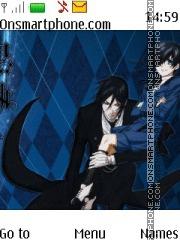 Kuroshitsuji theme screenshot