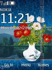 Spring Bouquet es el tema de pantalla